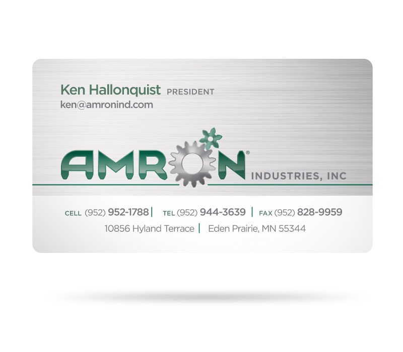 Amron Business Card