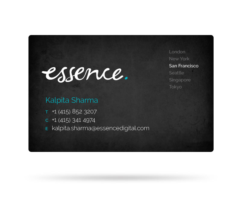 Essence Business Card