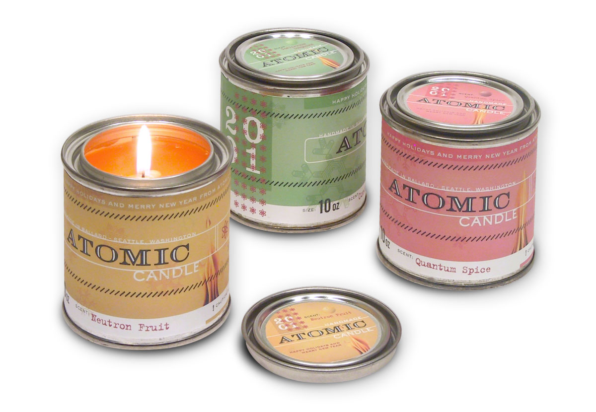 Atomic Design Lab Candle Series