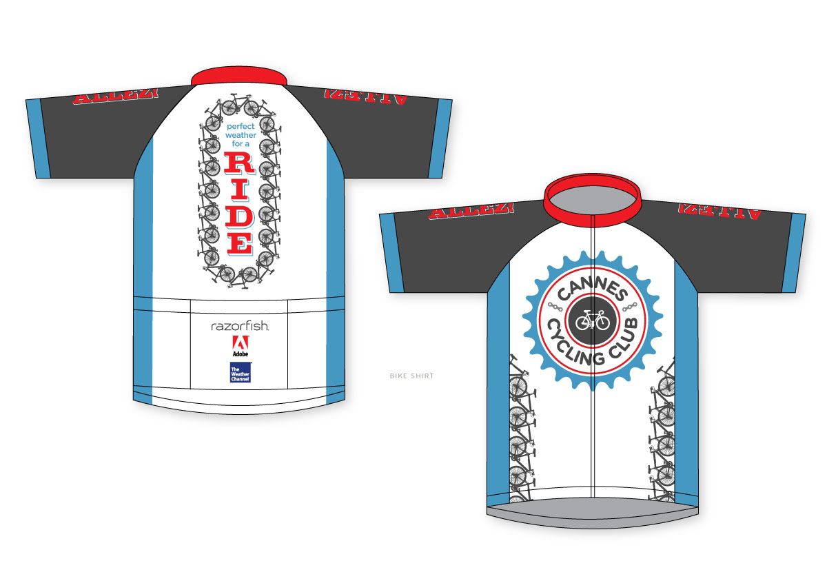 Razorfish Cannes Bike Club Jersey