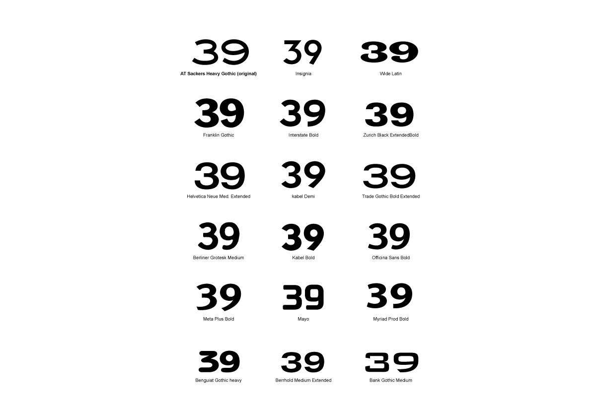 Chad's Race Car Number Options