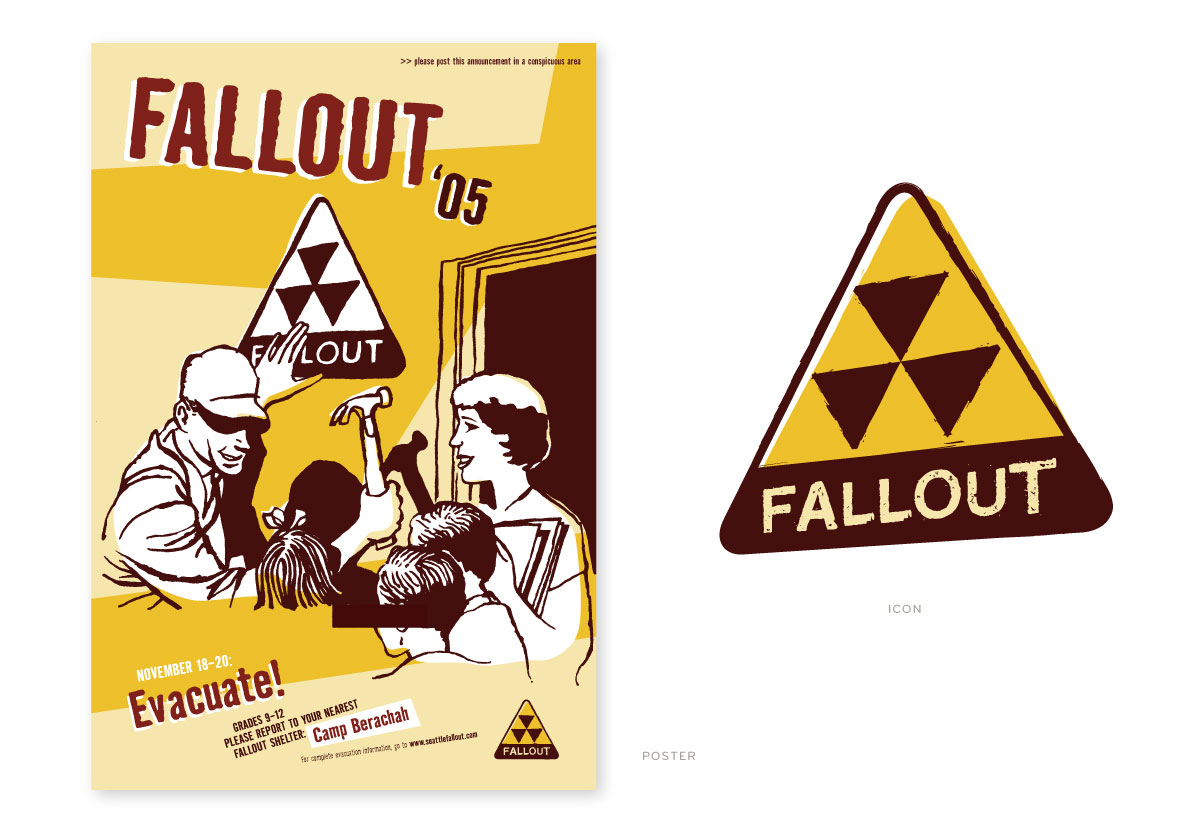 Fallout Camp Poster
