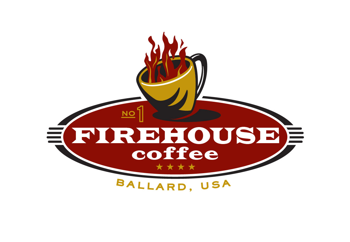 Firehouse Coffee Identity