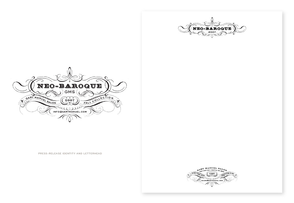 Gary Manuel PR Icon and Letterhead