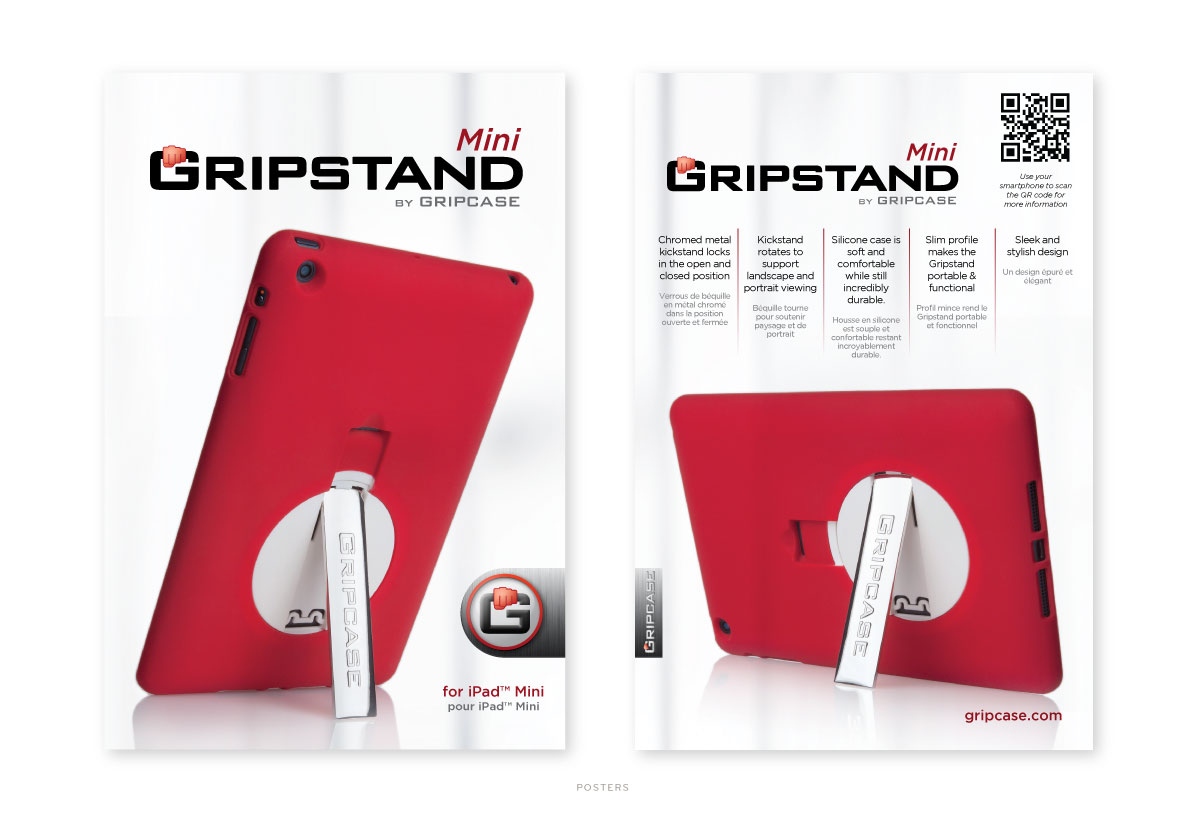 Gripcase Gripstand Packaging