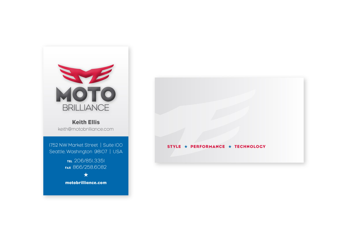 Moto Brilliance Business Card