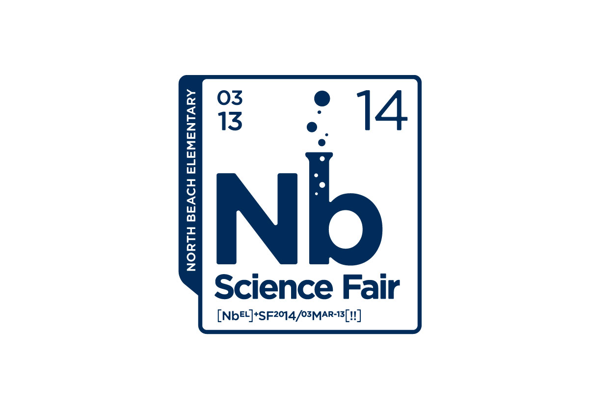 North Beach Elementary Science Fair Logo