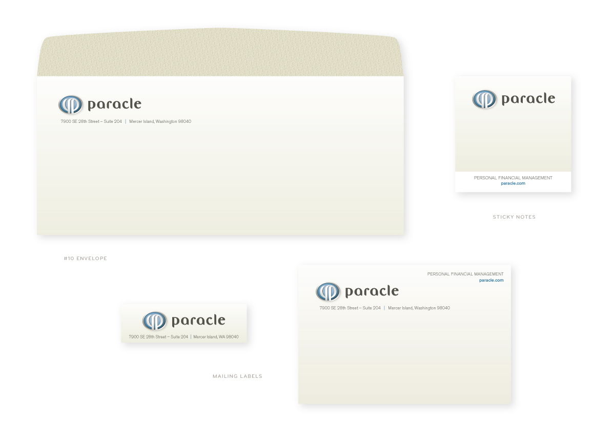 Paracle Envelope and Labels