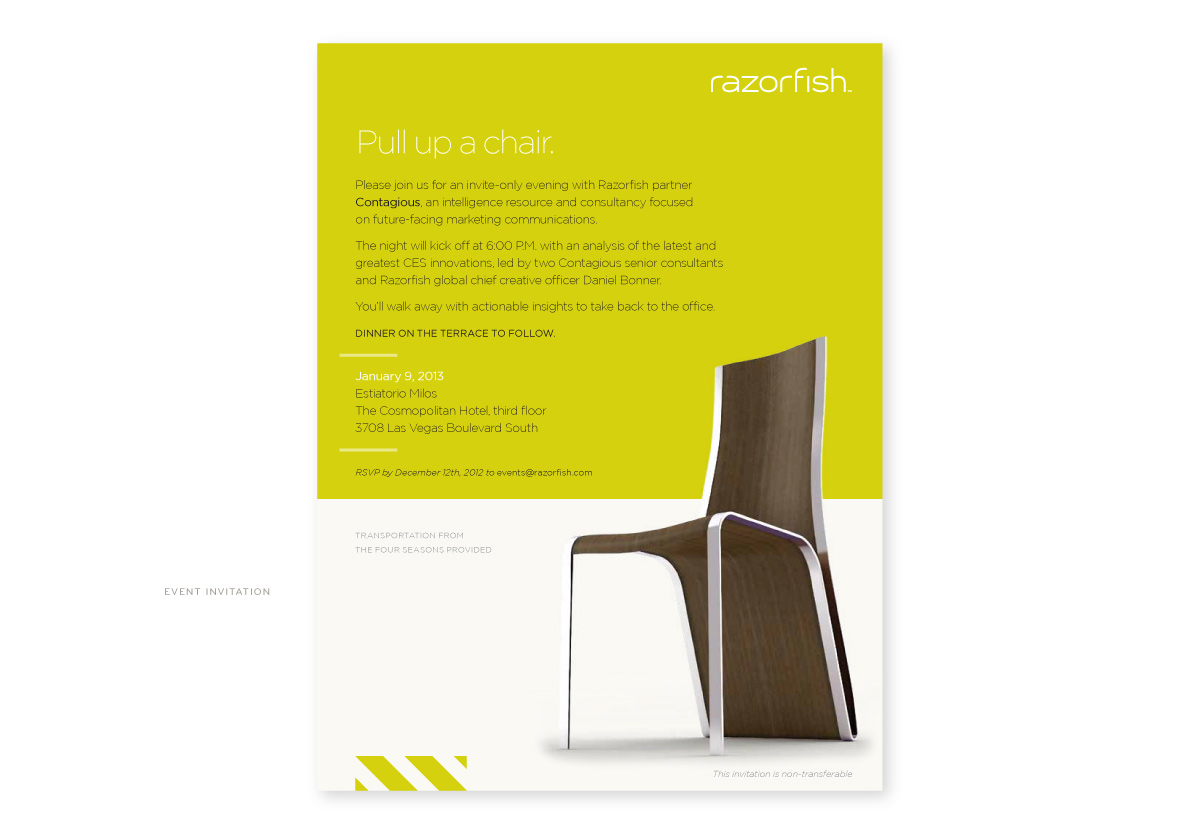 Razorfish Invitation