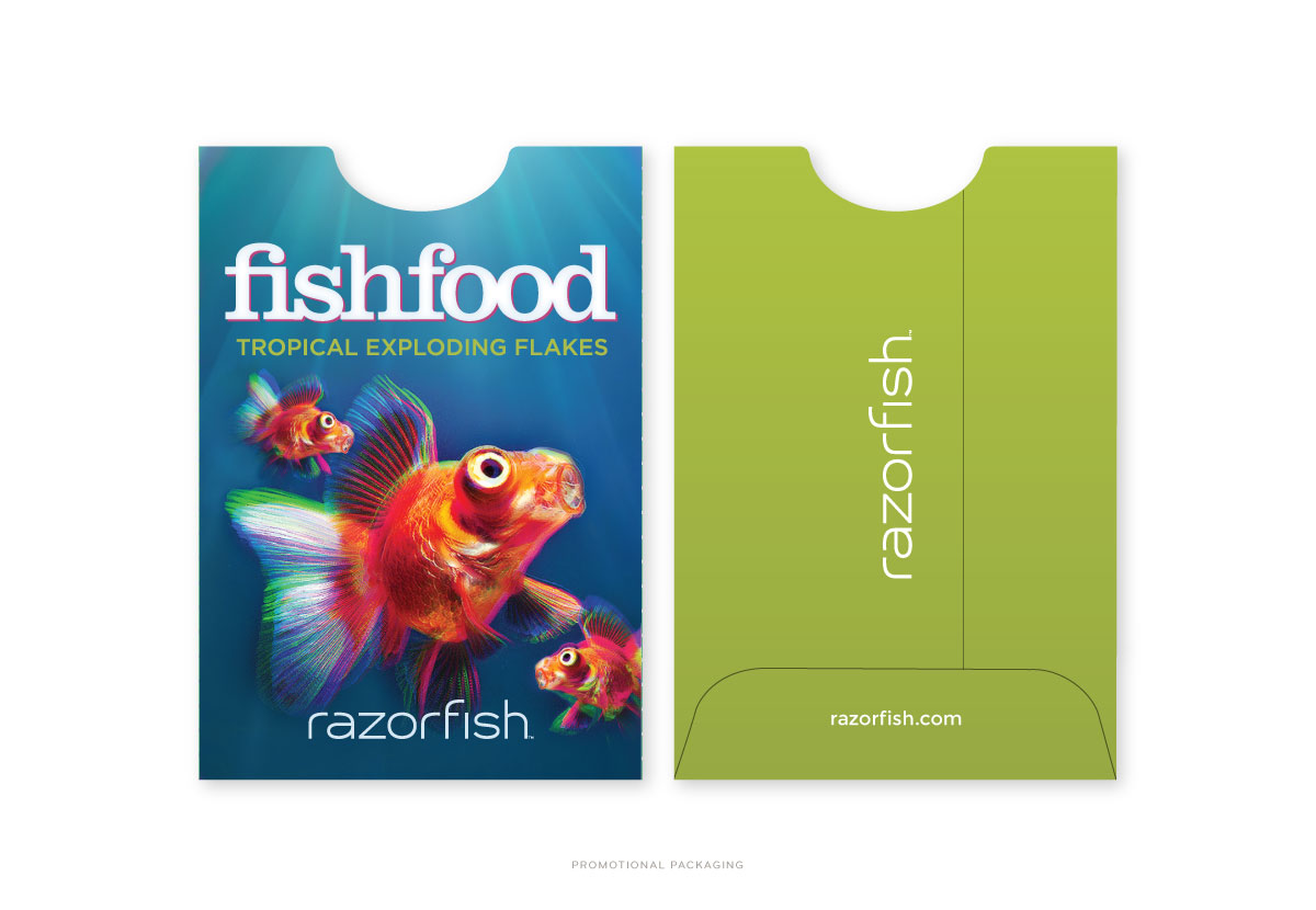 Razorfish Fish Food Packaging