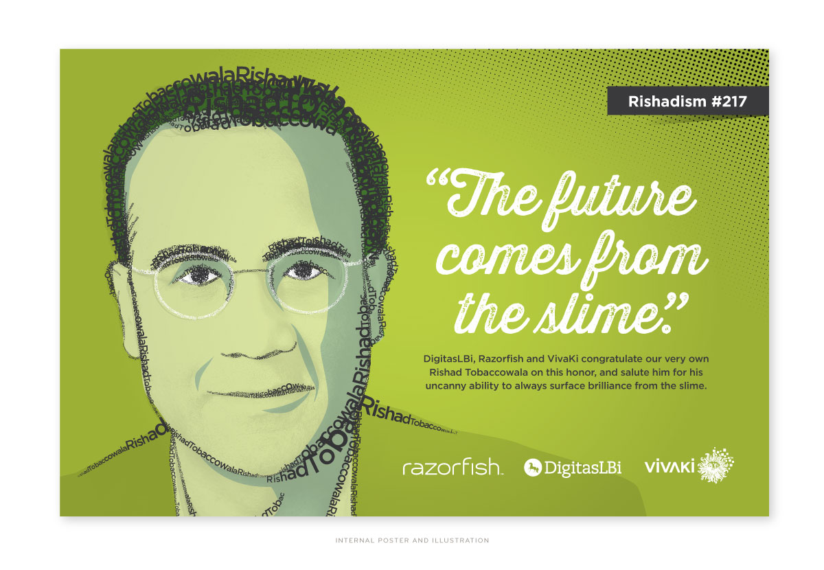 Razorfish Internal Poster