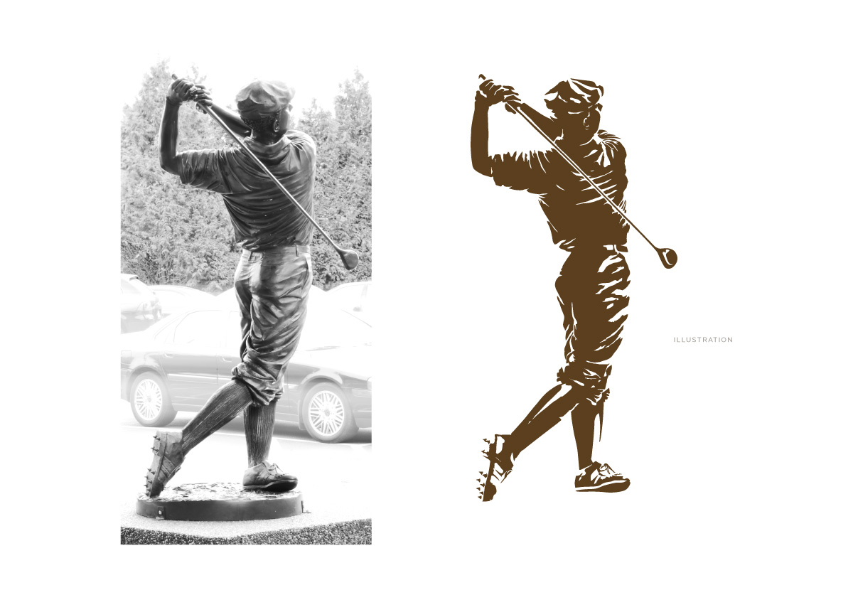 Windermere Golf Classic Illustration