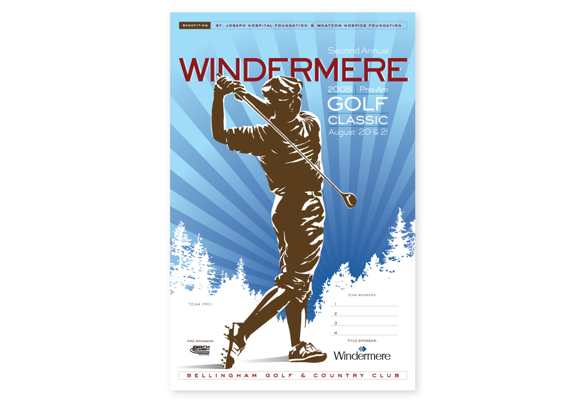 Windermere Golf Classic Poster