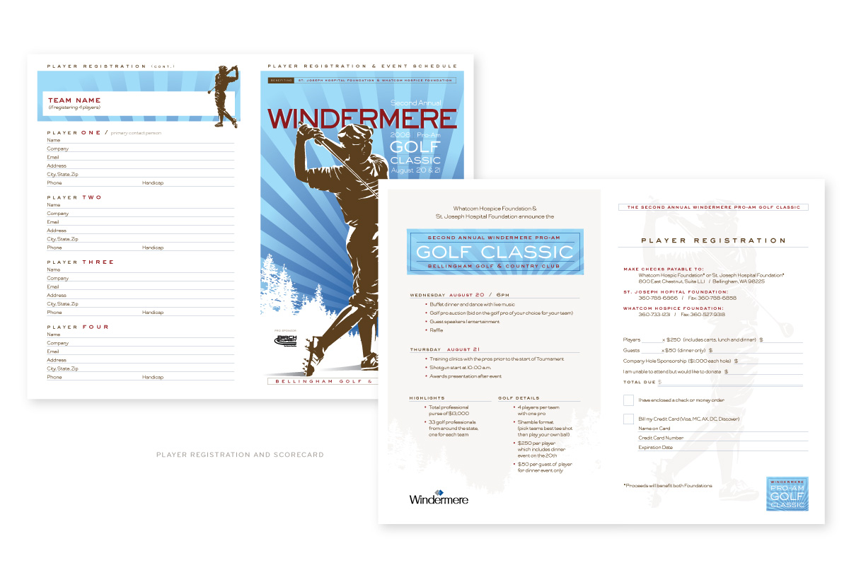 Windermere Golf Classic Scorecard