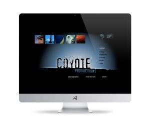 Coyote Productions Website