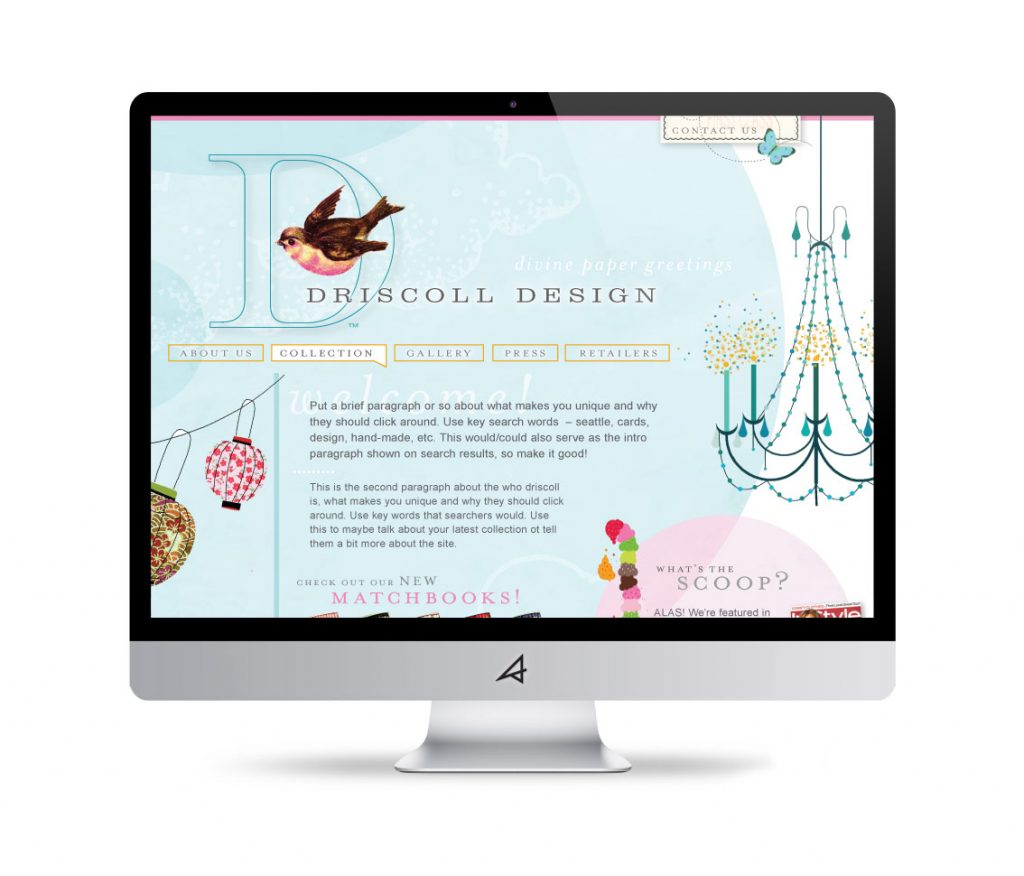 Driscoll Design Website