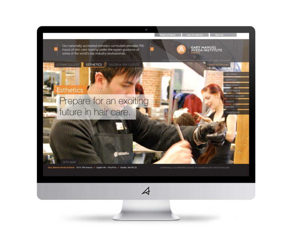 Gary Manuel Aveda Institute Website