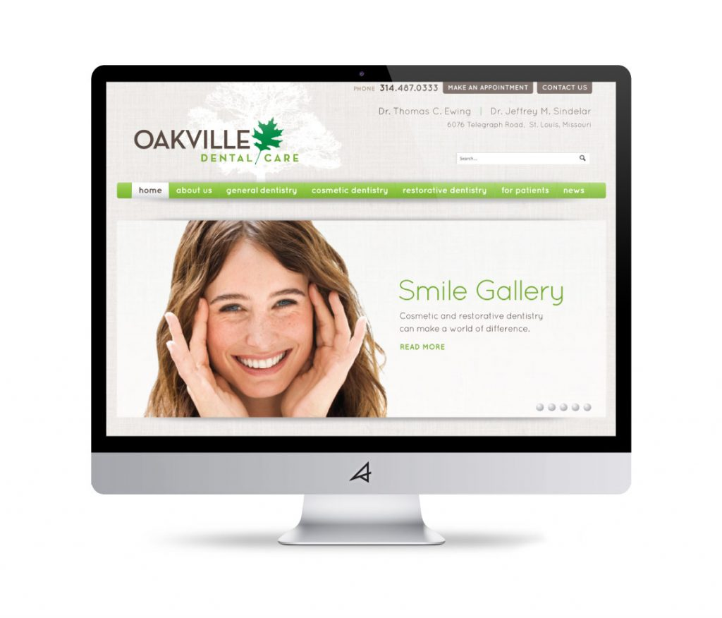 Oakville Dental Website