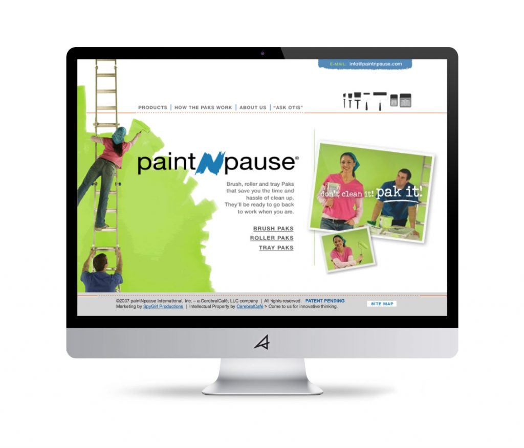 Paint-N-Pause Website