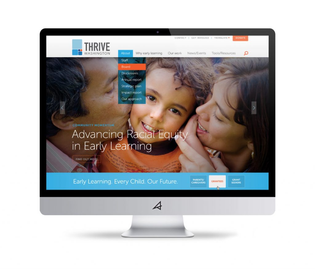 Thrive Washington Website