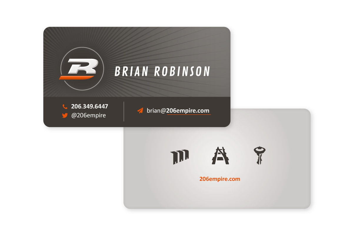 Brian Robinson Business Card