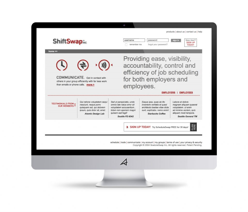Shiftswap Website