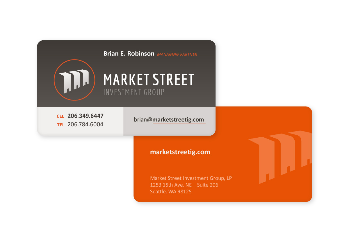 Market Street Investment Group Business Card