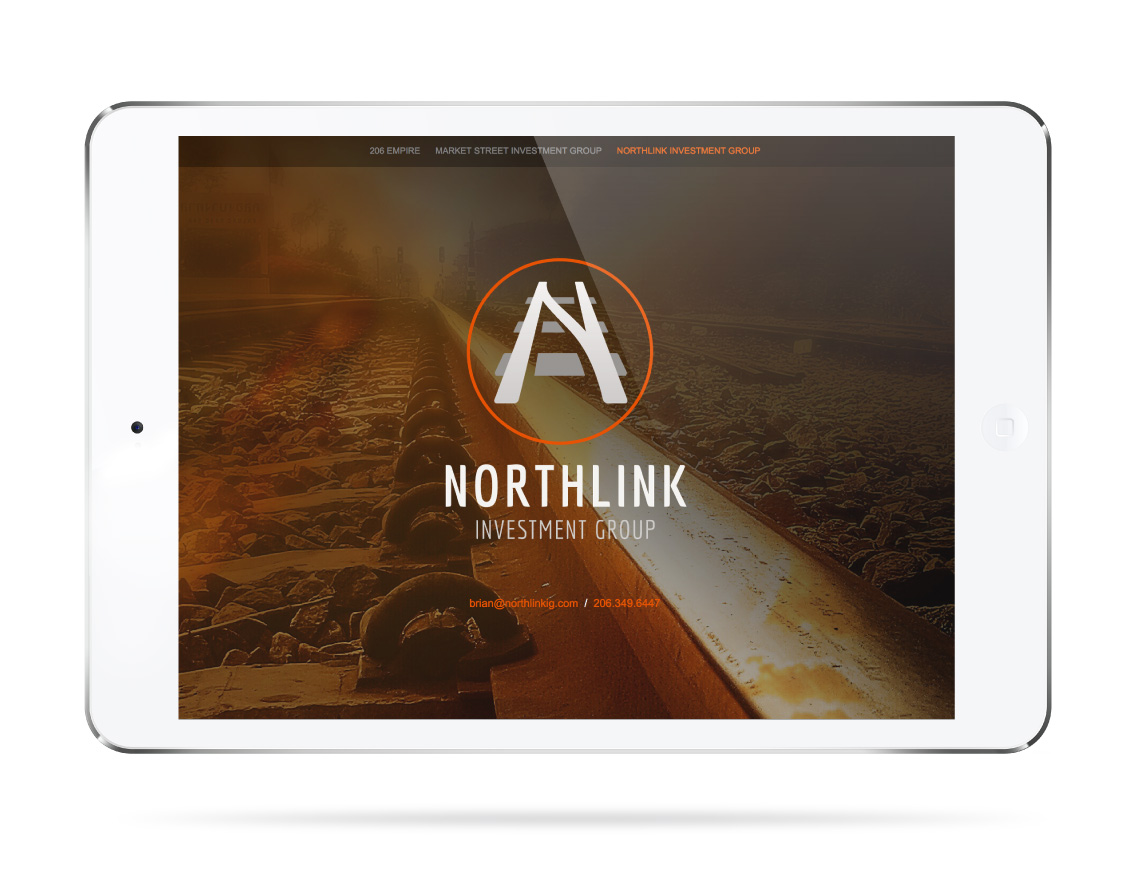 Northlink Investment Group Website – Tablet